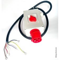 Kompletní vypínač  KLINGER BORN  K300/GB-306/M8,7A 400V/50Hz