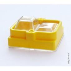 Kryt silikonový + rámeček na kompletní vypínače Klinger Born (KlingerBorn)  K700, K900, K3000 ...