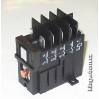 Relé KLIBO JD3 220-230V/50-60Hz 3 spinací 1 rozpínací kontakt , max. 4kW/13,5A