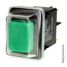 Vestavěný přepínač / tlačítko, 2 -pólový Klinger & Born KB- DT1 2s (KB-DT1-2s)